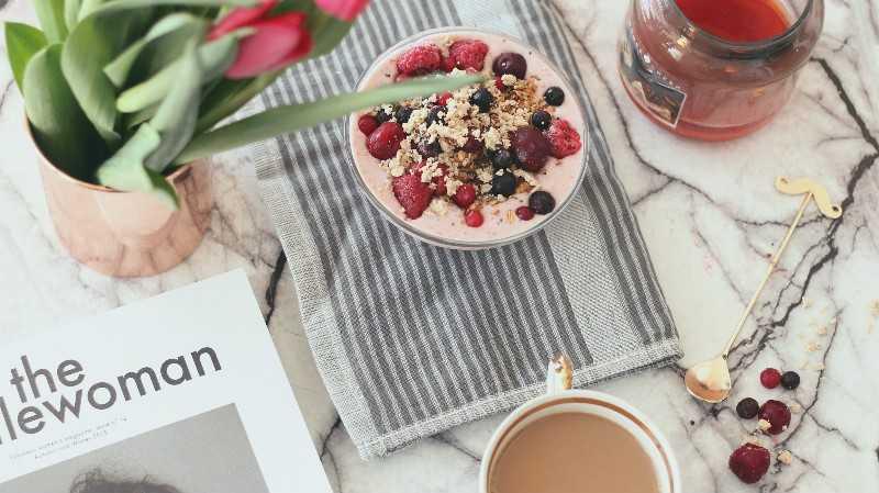 """פינוק מושלם לסופ""""ש – Vegan smoothie bowl"""