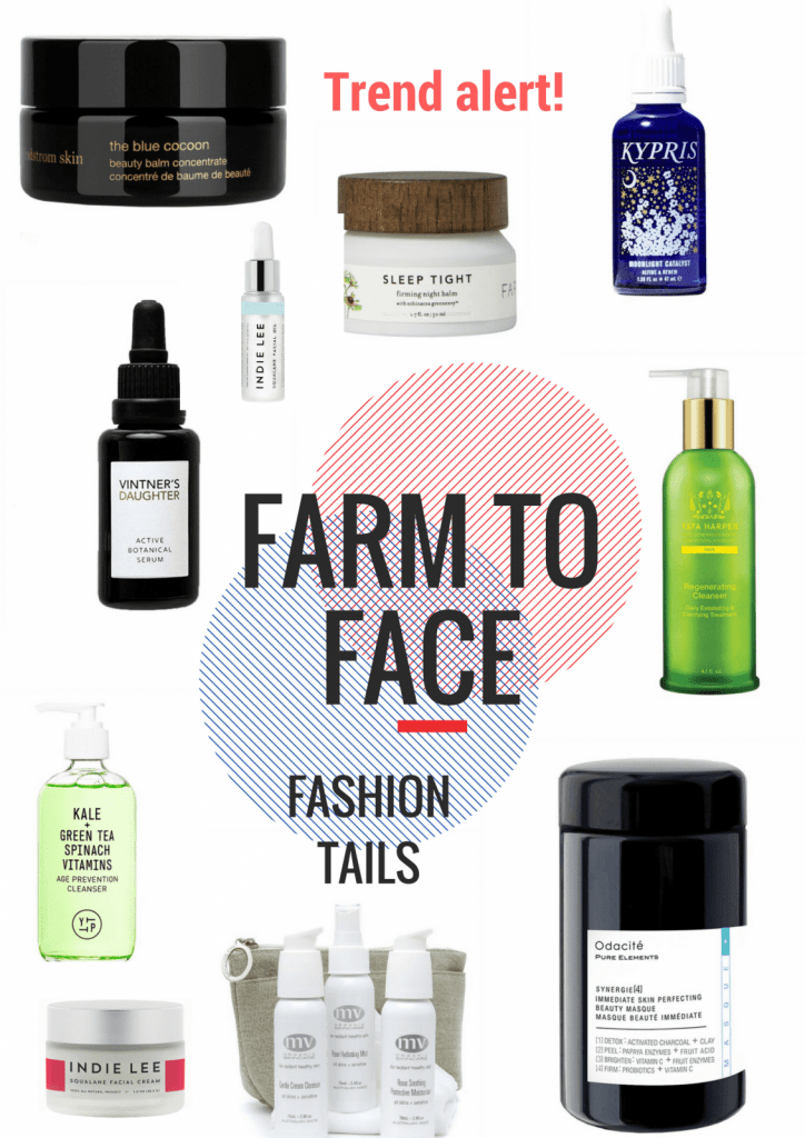 Farm to face trend Fashion tails Luba Shraga