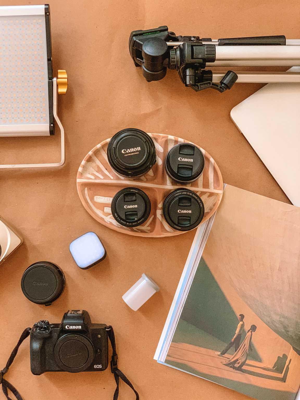 ציוד הצילום שלי + קוד קופון לקול גירלז