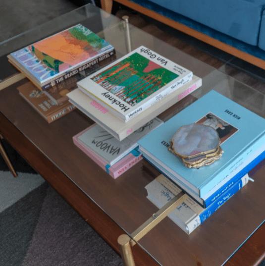 אוסף ספרי שולחן הקפה שלי