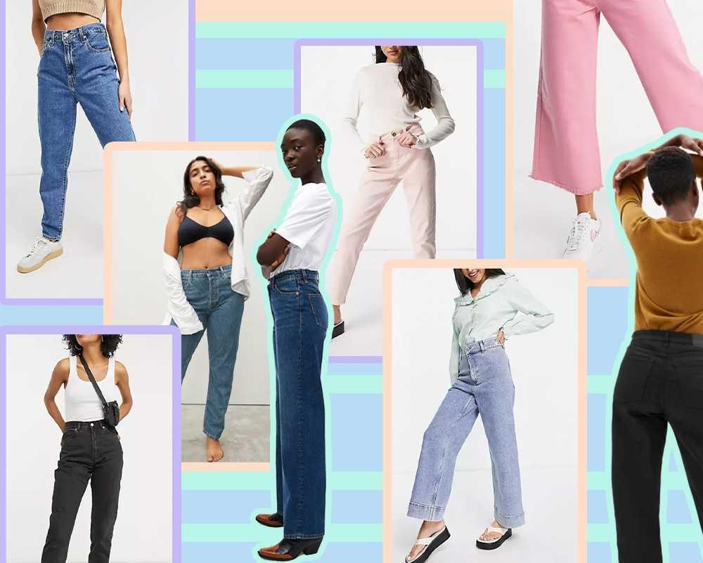 ג'ינסים בגזרות מרעננות לאביב